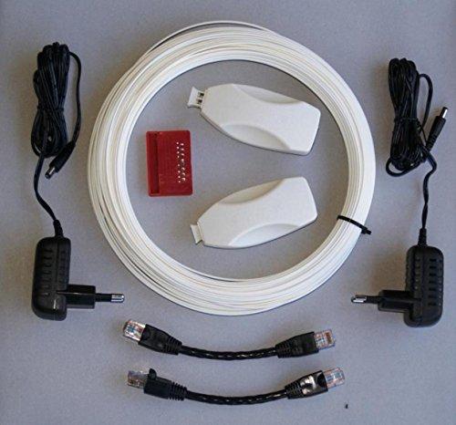 Homefibre MCE 300T-220-30SI POF Medienkonverter Set