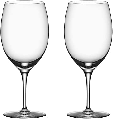 """Orrefors 6180117 Premier 24 oz. All Purpose Steware, Set of 2, 9 1/16"""" x 3 15/16"""", Clear"""