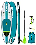 Jobe 2018 Aero Yarra Inflatable Stand Up Paddle Board 10'6 x 32 INC Paddle,...