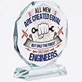 Funny Engineer Gifts | Engineering | For Men | Women | Funny | Her | Keepsake | Christmas | Science | Math | Crystal | Paperweight