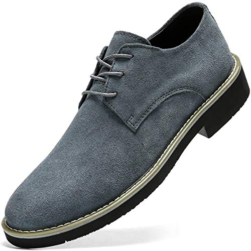 [VITIST LAOKS] カジュアルシューズ スウェード靴カジュアル靴 レースアップシューズ ブーツ メンズ 厚底 レザーシューズ オフィスシューズ 4e おしゃれ 防滑 通勤用 軽量