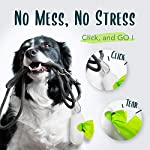 moonygreen Biodegradable Dog Poo Bags - Vegetable-Based, Home Compostable, Microplastic-Free, Unscented and Leak-Proof - 23 x 33 cm, Refill Pack of 120 14