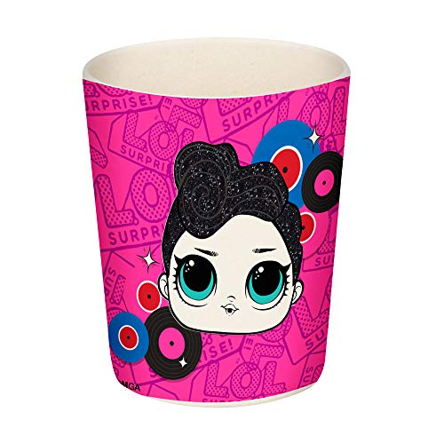 LOL SURPRISE Vaso Bambu Glam' Vasos largos, No Aplica, Negro
