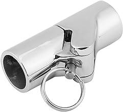 DealMux 22mm Dia revestimiento de goma en forma de U tubos de acero inoxidable abrazaderas de tubo de sujeci/ón