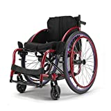 IOFESINK Walker Chair Wheelchair Silla de Ruedas Deportiva autopropulsada, Dispositivo de...
