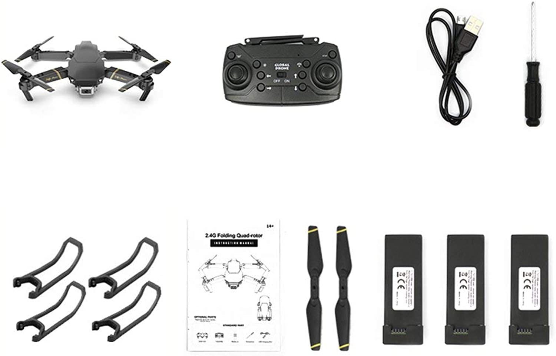 Noradtjcca GD89 WiFi FPV mit 480P HD Kamera 15 Minuten Flugzeit Alitute Hold Mode Faltbarer Arm RC Drone Aircraft Mit 3  Batterie
