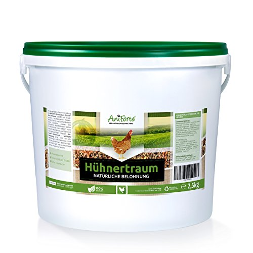 AniForte Hühnertraum Gesunde Belohnung 2,5 kg - Naturprodukt für Hühner