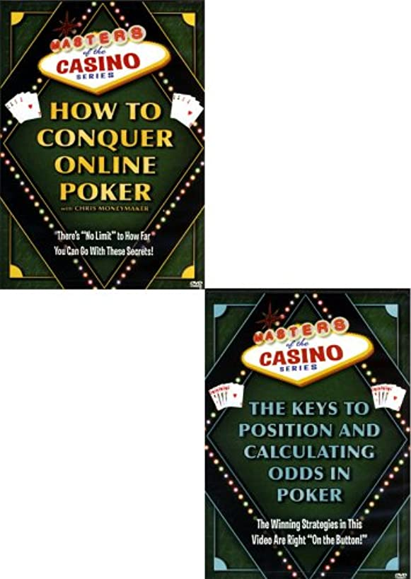 Masters of the Casino Series (2 Pack)The Keys to Position and Calculating the Odds / How to Conquer Online Poker.
