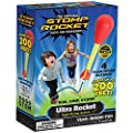 Stomp Rocket Ultra Rocket, 4 Rockets - Outdoor Rocket Toy Gift for Boys and Girls - Comes with Toy Rocket Launcher - Ages 5 Years and Up from D+L Company