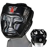 FOX-FIGHT MMA Kopfschutz Boxen Muay Thai Kikboxen Kopfschoner -