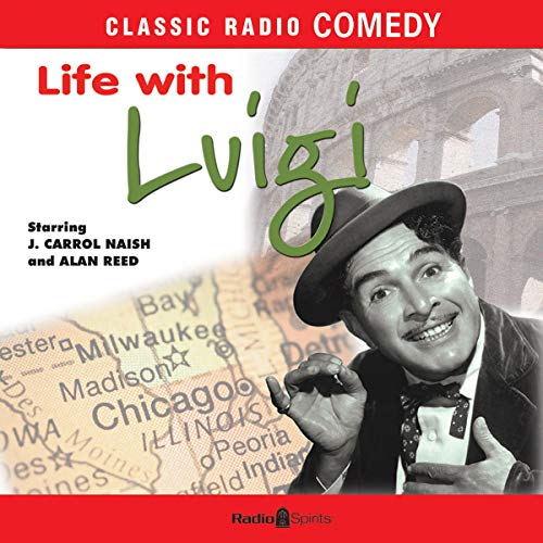 Life with Luigi audiobook cover art
