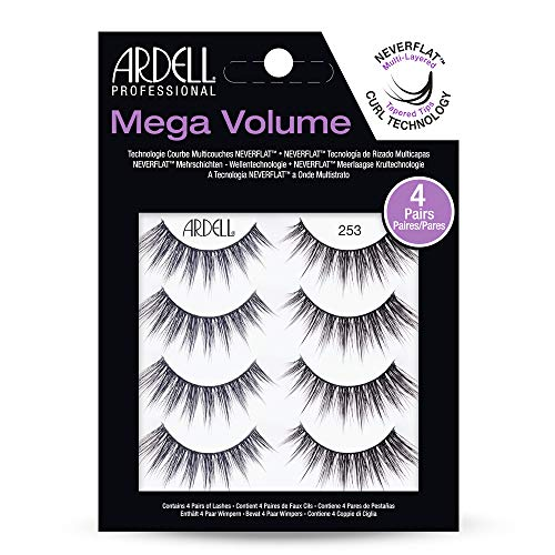 Ardell Mega Volume - 253-4 Pairs Pack