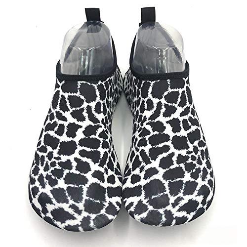 Vast Aqua Shoes - Zapatos de verano transpirables antideslizantes con cinco dedos para interior y yoga, unisex, talla 38 – 39 (adecuado 37 – 38), color: color 01