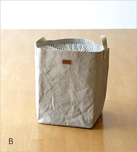 UASHMAMA ランドリーバッグ ランドリーバスケット 洗濯かご 折りたたみ おしゃれ イタリア製 コインランドリー 洗える UASHMAMAランドリーバッグ [ras7774] (B)