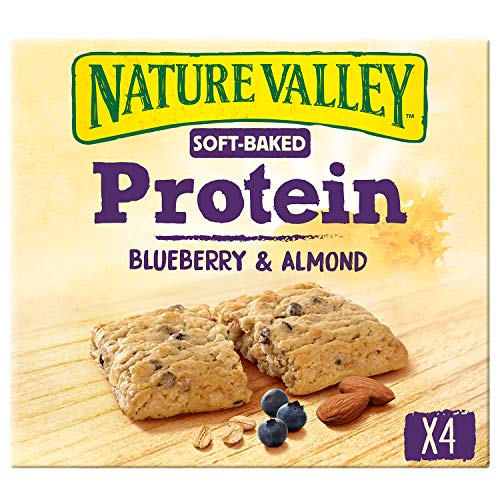 Nature Valley Soft-Baked Protein Blueberry & Almond, 4 Biscuits, 152 g