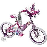 Huffy Disney Princess 16' Bike with Handlebar Magic Mirror