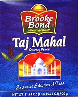 Taj Mahal Orange Pekoe Loose Leaf Black Tea 900 grams 2-Pack (2 x 900 g / 2 x 31.75 oz)