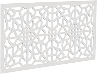 YardSmart 73004785 Decorative Screen Panel 2X4-Fretwork, White