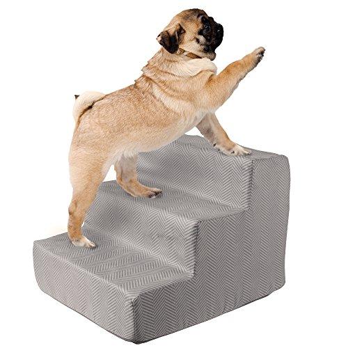 PETMAKER High Density Foam 3 Tier Pet Steps