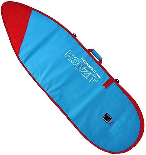 Howzit - Housse Funboard de Transport Surf 7'0 Bleu