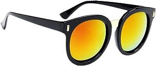 Fenteer キッズサングラス 子供サングラス ファッション眼鏡  男の子 女の子 超軽 紫外線対策 ビーチ 旅行用 全7種類