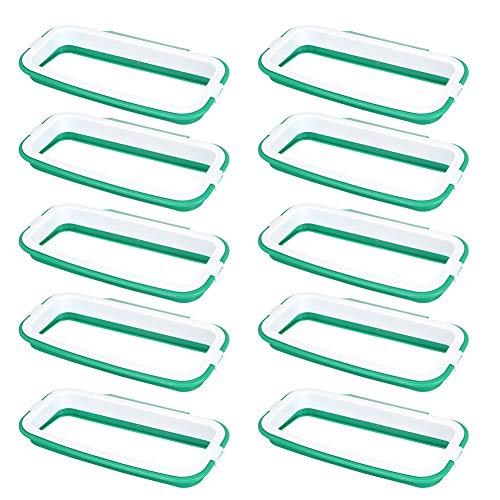 Rehomy Estante para colgar en la puerta del armario (verde)