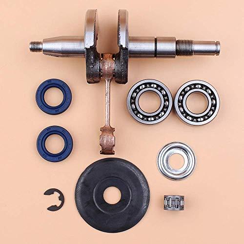 HaoYueDa Kit de Sello de Aceite de cojinete de cigüeñal Compatible con STIHL 018 MS180 MS 180 Repuestos de reacondicionamiento de Motosierra de Gasolina 1132030 0402