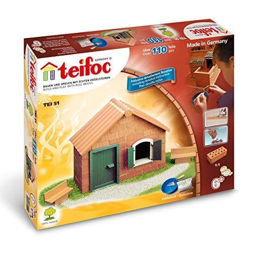 Teifoc TEI 0051 - Juego de construcción con ladrillos [importado de Alemania]