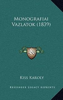 Monografiai Vazlatok (1839)