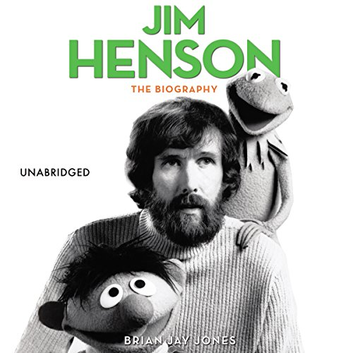 Jim Henson audiobook cover art