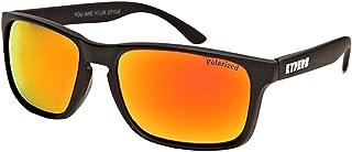 2878a0b303 KYPERS Coconut Gafas de sol, Matte Black - Red Mirror, 57 Unisex