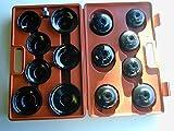 Neilsen - Juego de llaves de vaso para filtro de aceite