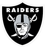 NFL Siskiyou Sports Fan Shop Las Vegas Raiders Logo Magnets 8 inch sheet Team Color