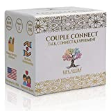 cream colored box with gold embossing, life sutra couple connect cards