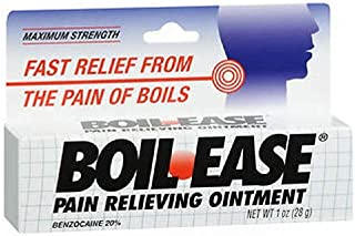 Boil-Ease Pain Relieving Ointment-1, oz (Quantity of 4)