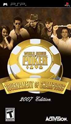 World Series of Poker Tournament of Champions - Sony PSP