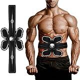 Shapewear Electroestimulador Muscular, 5 Modos Abdominales Cinturón, Estimulador Muscular Abdominales, Masajeador Eléctrico Cinturón con USB, (Hombre/Mujer)