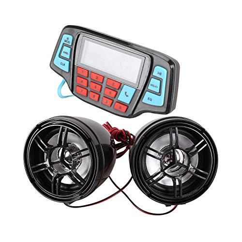 Beada Reproductor De Musica Mp3 De Motocicleta Altavoz EstéReo Manos Libres De Audio Sistema De Audio Impermeable De Radio FM