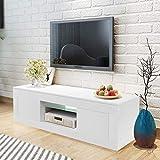 WISFORBEST Mueble TV LED Mueble de Salón Moderno Gabinete para Televisión hasta 60...