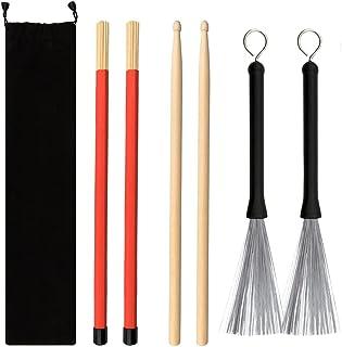 5A Maple Drum Sticks, drumsticks for adults,drum set...