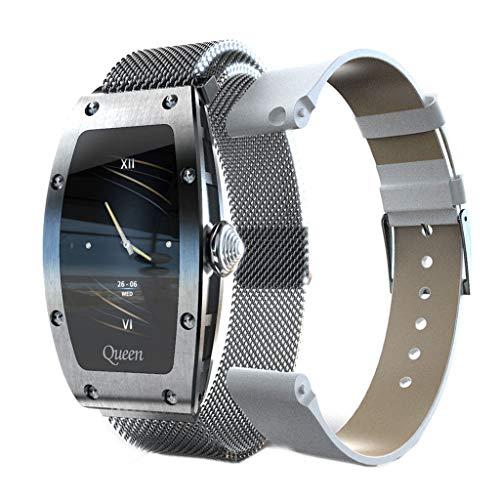 APCHY Reloj inteligentesmartwatch,Mujer Monitores de Actividad con Pantalla HD de 1.14 Pulgadas Modo Deportivo múltiple monitorización del Ritmo cardíaco y del sueño Pulsera Impermeable,B
