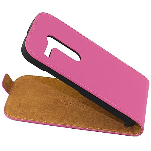 ebestStar - Cover Compatibile con Motorola Moto G, XT1032 Custodia Protezione Pelle PU Risvolto Verticale, Rosa [Apparecchio: 129.9 x 65.9 x 11.6mm, 4.5'']
