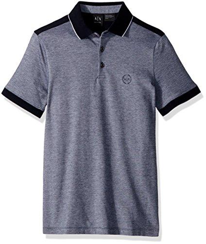 Armani Exchange Herren The, Not So Basic After All Poloshirt, Blau (Navy 1510), Small (Herstellergröße:S)