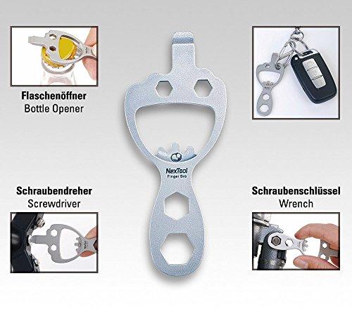 NexTool doigts, bro eDC-tool avec mousqueton