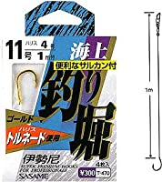ささめ針(SASAME) 海上釣り堀(伊勢尼) 金 鈎9/ハリス3 T-470