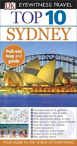 DK Eyewitness Top 10 Sydney 2015 Pocket Travel Guide product image