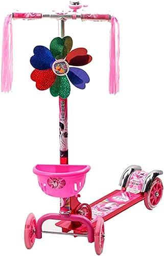 YUMEIGE Kickscooter Tretroller H nverstellbarer 3-Rad-Roller Kinder-Roller mit PU-Rad Tragf gkeit 80 kg Geeignet für 2-13 Kinder Verfügbar