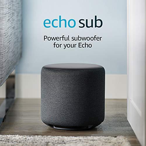 AMAZON Subwoofer Echo Bluetooth Speakers Black