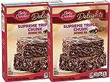 Betty Crocker Delights Triple Chunk Supreme Brownie Mix, 17.8 oz (2 Pack)