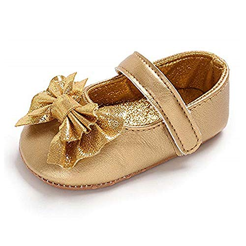 Gold Infant Shoes Size 1